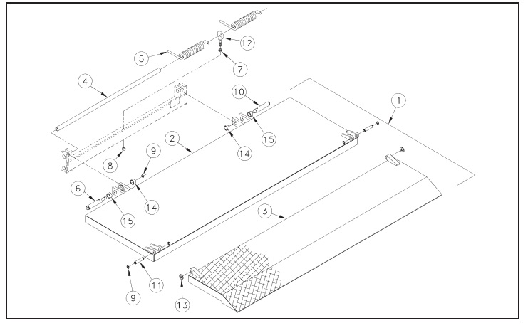 truck and transportation equipment co inc  - schematics  30 platform assembly